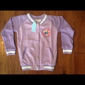 Girls Frozen Varsity Jacket